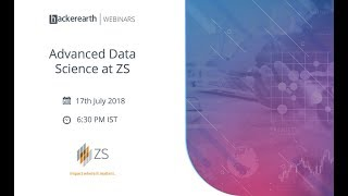 Advanced Data Science at ZS