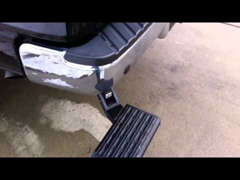 0 Demonstration of 2007 Ford F150 w/ 6 lift kit, Amp BedStep, EZ Down Tailgate, and Cargo Bar