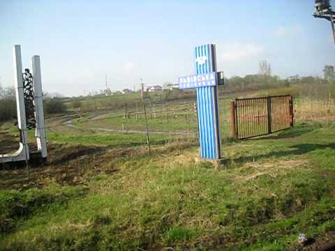 Border between Ukraine with Poland at Mostiskas/Przemyśl train station