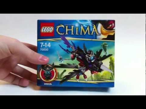LEGO Live Construction : Legends Of Chima's Razcal's Glider [Français]