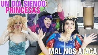 Un dia siendo Princesas - Rapuncel Frozen Blanca Nieves / Gaby Gilda