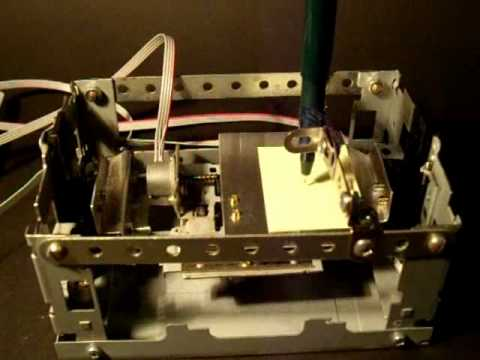 Micro CNC From Floppy Drives