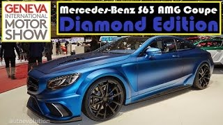 Mercedes-Benz S63 AMG Coupe Diamond Edition, live photos at 2015 Geneva Motor Show