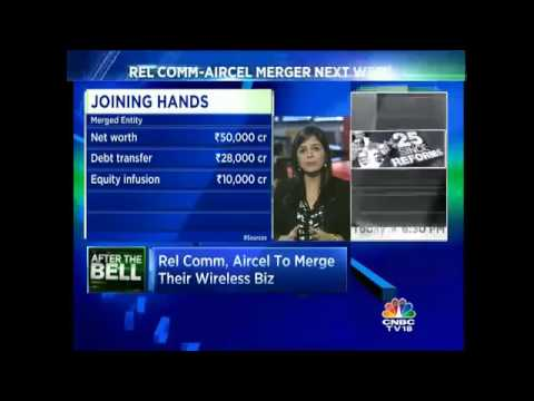 CNBC-TV18 Exclusive: Rel Comm-Aircel Merger Next Week