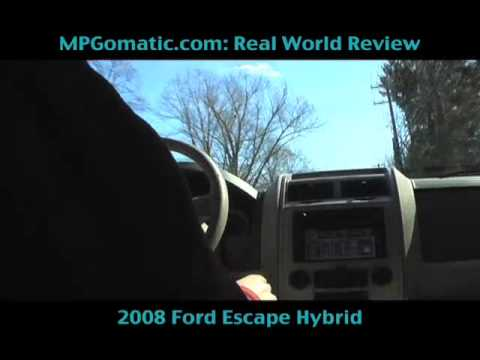 Ford Escape Hybrid Review