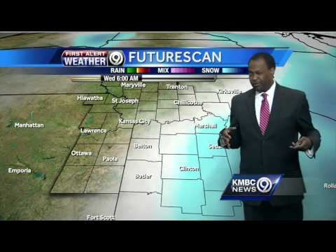 Tuesday's forecast includes warm afternoon, snow chances