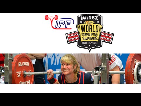 Women M2- M4, 72-84+ kg - World Classic Powerlifting Championships 2016