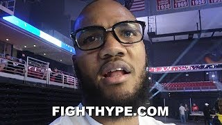 "JULIAN WILLIAMS PREDICTS ""BARNBURNER"" RUIZ VS. JOSHUA 2 AND ""50/50"" HARRISON VS. CHARLO 2"