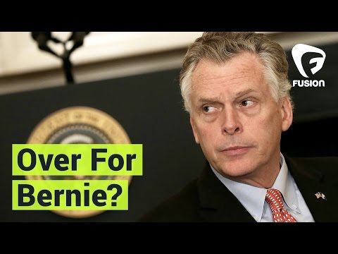 'It's Over For Bernie Sanders' says Gov. Terry McAuliffe
