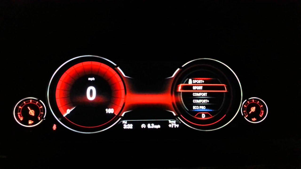 Race Car Instrument Panel