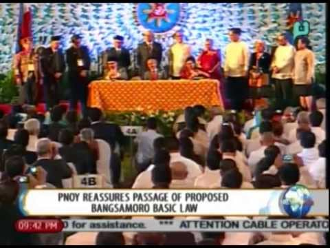 NewsLife: Palace reassures passage of proposed Bangsamoro Basic Law || July 25, 2014