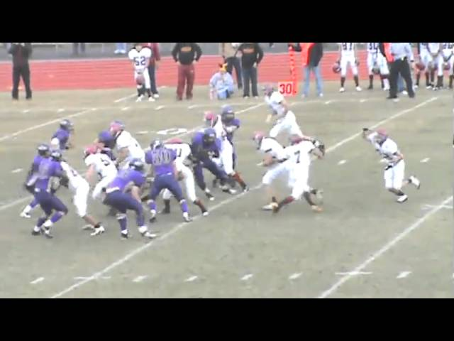 11-20-10 - Skyler Seewald scores from 34 (Brush 20, Bayfield 3) (fuzzy video)