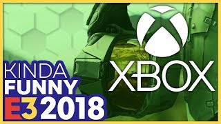 Kinda Funny Talks Over The Xbox E3 2018 Press Conference (Live Reactions!)