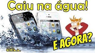 Saiba o que fazer quando seu celular cair na água Dicas