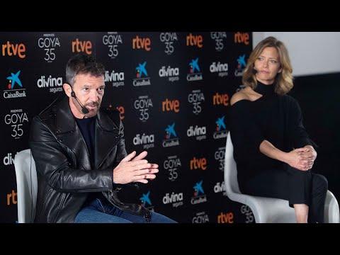 Encuentro con Antonio Banderas y María Casado