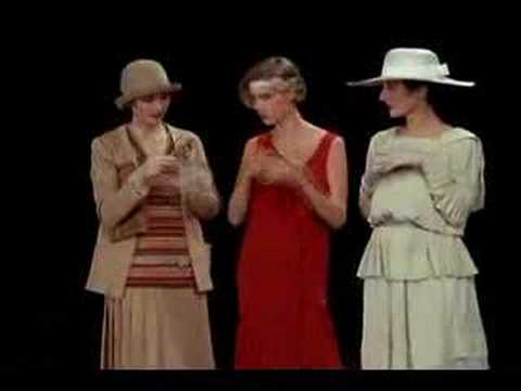 Mode en France History of Fashion sequence
