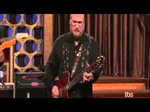 Steve Cropper Performs on Conan