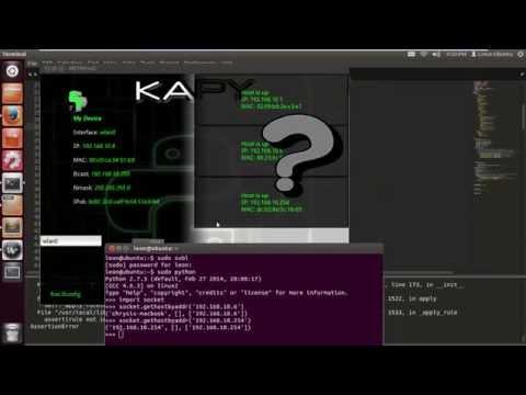 Scapy / Kivy-Tut-8 (Using OUI's)