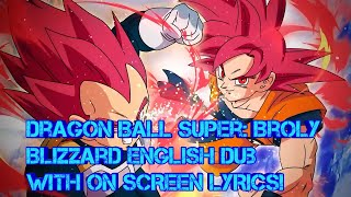Dragon Ball Super Broly Official Blizzard English Dub With On Screen