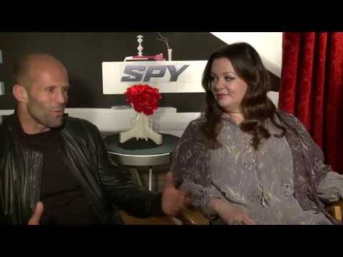 Spy Movie Interview - Jason Statham & Melissa McCarthy