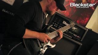 Andy James shreds the Blackstar HT-Blackfire, Gus G.'s signature distortion pedal