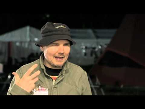 Billy Corgan (The Smashing Pumpkins) Interview - Splendour in the Grass 2012 (Get More Into Music)