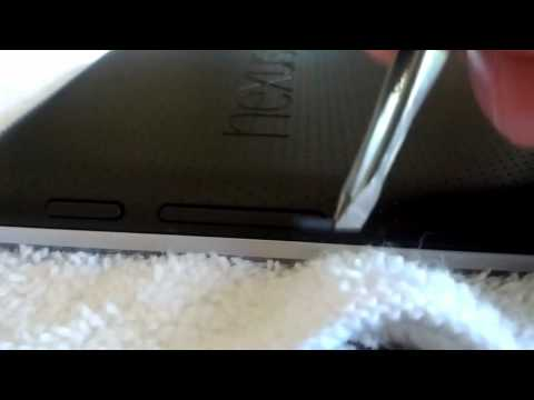 Nexus 7 Screen Separation/Spongy Issue Fix (By Accident) Edited