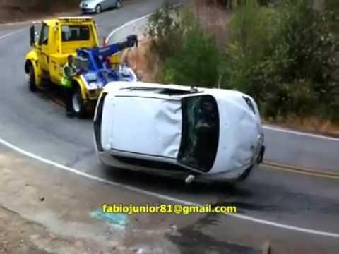 Como NÃO resgatar um carro tombado