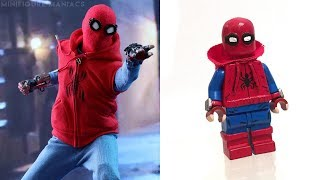 LEGO SPIDERMAN - Minifigures VS Movies & Comics