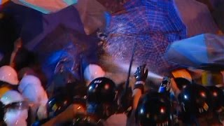 Pepper Spray, Insults Fly in Hong Kong Protests