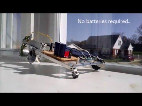 Easter Solar Engine Junkbot