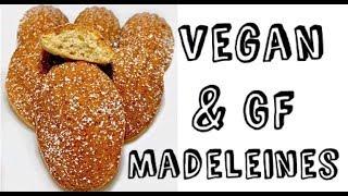 Madeleine Recipe | Vegan, Gluten Free