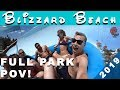 Disney's Blizzard Beach 2019 HD! Waterslide POVS, Family Rafts, Lazy Rivers, Kid Zones & More!