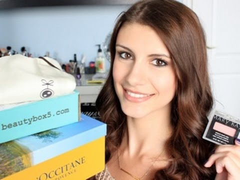 Collective Unboxing: Beauty Box 5, Luxe Box, Mary Kay & More