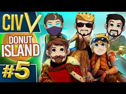 Civ V: Donut Island #5 This Means War!