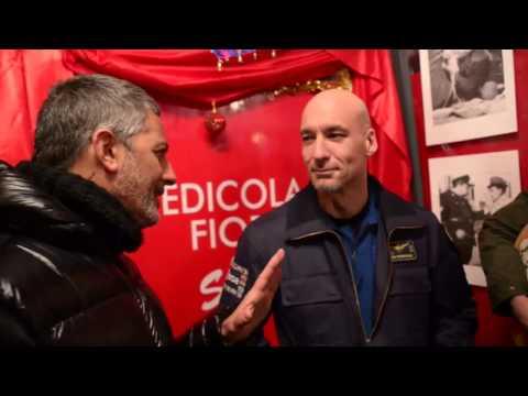 SPECIALE Luca Parmitano e Jovanotti all'Edicola Fiore