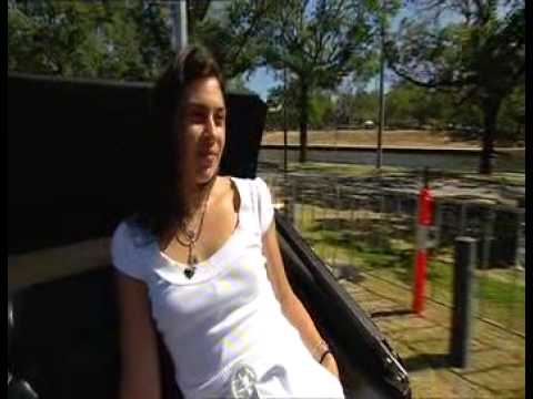 Marion Bartoli interview on Melbourne horse and cart Video