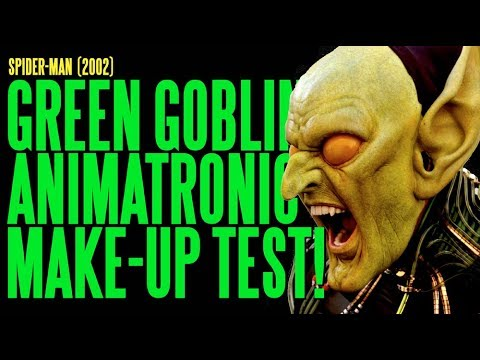 SPIDER-MAN Green Goblin Animatronic Make-Up Hybrid Test ADI
