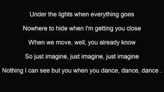 JUSTIN TIMBERLAKE CAN'T STOP THE FEELING lyrics