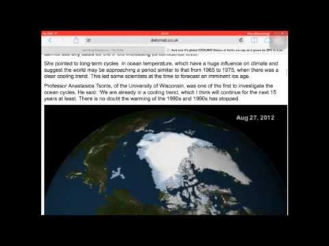 GLOBAL WARMING LIE ACCEPTED U.N.