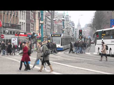 Dam Square - Amsterdam, NL - Feb 2012