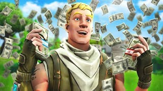 Mr. Beast came to my house and handed me $10,000... lol