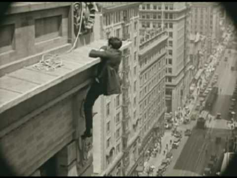Harold Lloyd's safety Last- 1923 video