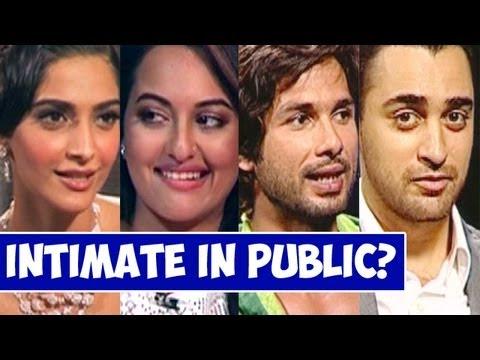 Did Sonakshi Sinha, Sonam Kapoor, Shahid Kapoor, John & Imran Khan get Intimate in a PUBLIC PLACE?