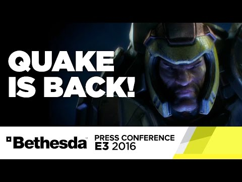Quake Reveal Stage Show - E3 2016 Bethesda Press Conference