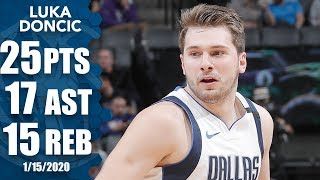 Luka Doncic posts monster triple-double in record time vs. Kings | 2019-20 NBA Highlights