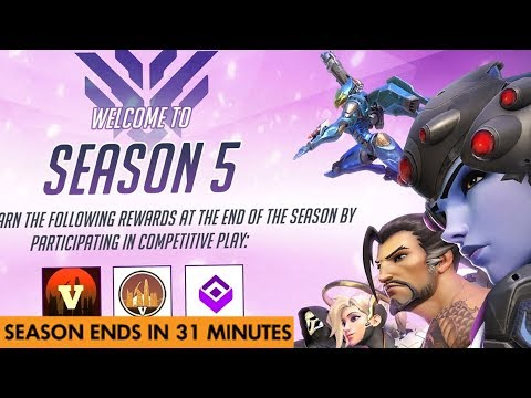 OVERWATCH SEASON 5 COMPETITIVE FINALLY COMES TO AN END! (rip dive meta?)