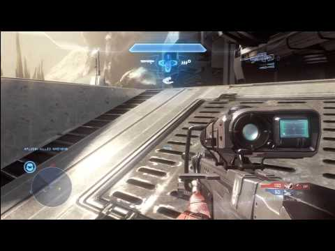Halo 4 Multiplayer Tips and Tricks for Promethean Vision | Matchmaking Gameplay Commentary
