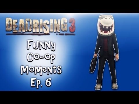 Dead Rising 3 Funny Co-op Moments ep. 6 (Penis Gun. Bee Monster. Yoga Boss)