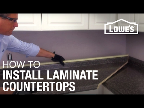 Installing Laminate Countertops : How to Install Laminate Countertops